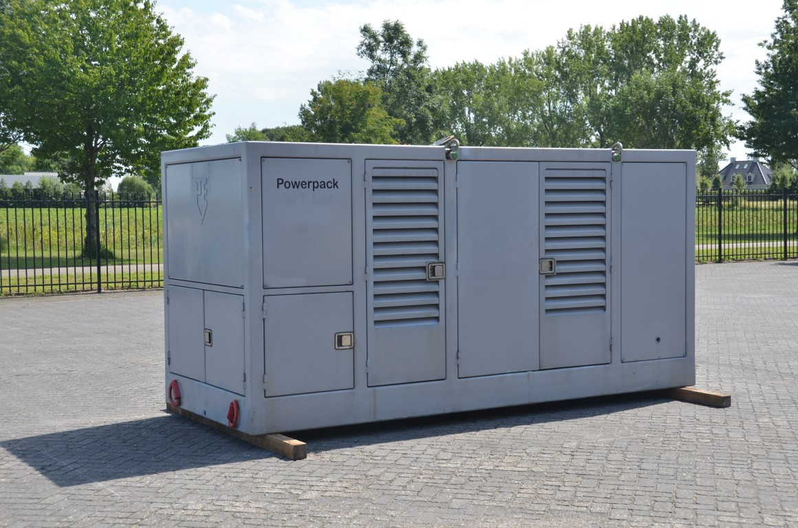 Hydraulic power pack (hpu-dop-250) diesel driven volvo